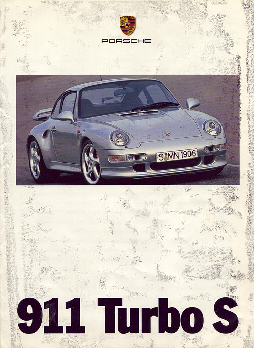 Q is desperate ! - WANTED: 993 Turbo S sales brochure